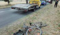 Śmiertelne potrącenie rowerzysty w Zabartowie [FOTO]