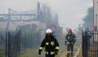 PILNE: Pożar budynku gospodarczego w Witunii