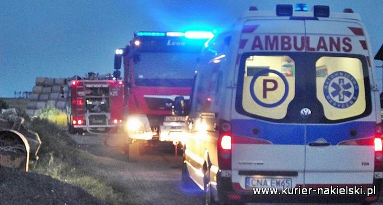 Pożar suszarni w Krukówku