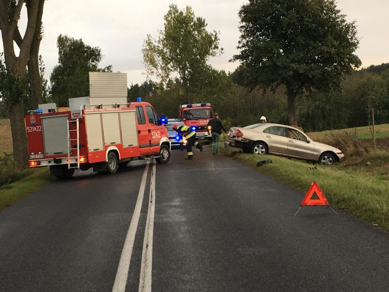 Zdarzenia drogowe z udziałem Mercedesa