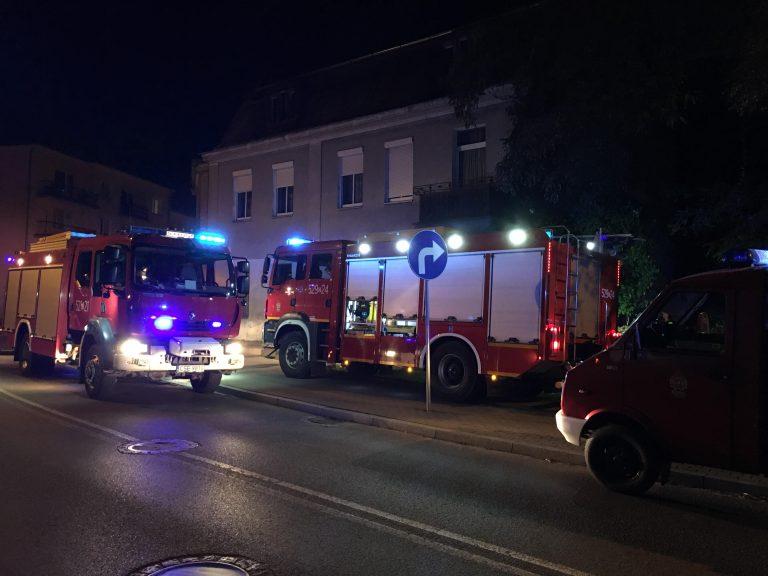 Pożar w mieszkaniu przy ulicy Gdańskiej. Jedna osoba poszkodowana.
