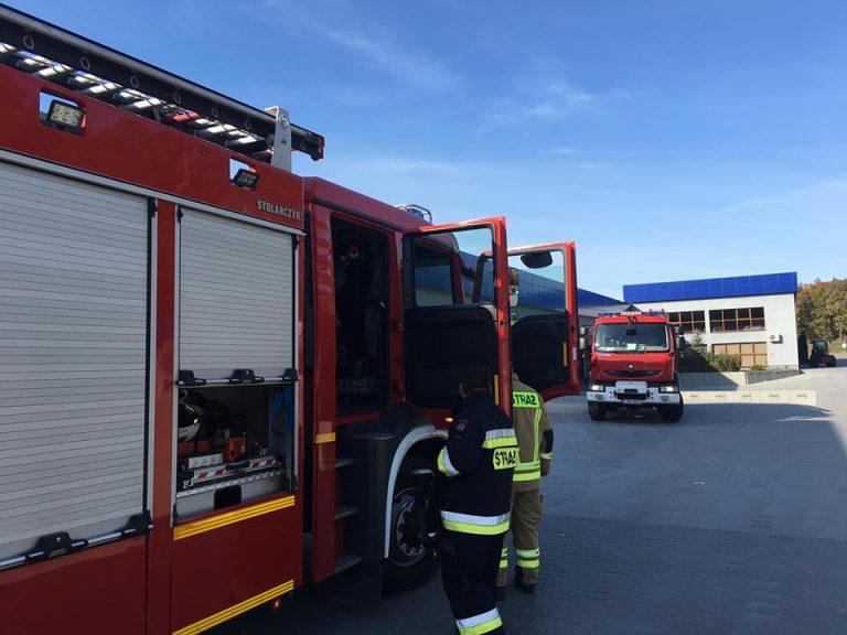 Interwencja Straży Pożarnej w Gabi-Bis