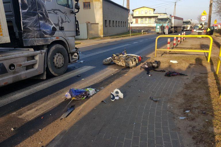 Groźny wypadek w Mąkowarsku. Jedna osoba ranna