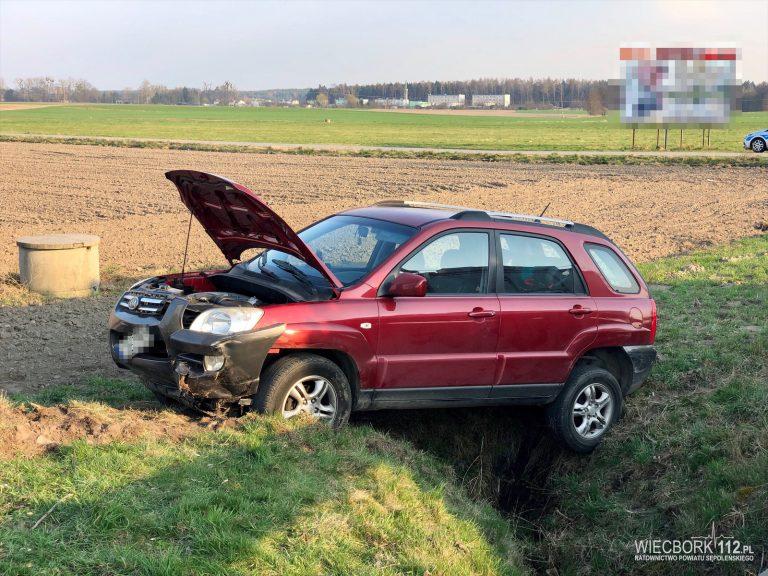 Zderzenie dwóch aut w Zamarte
