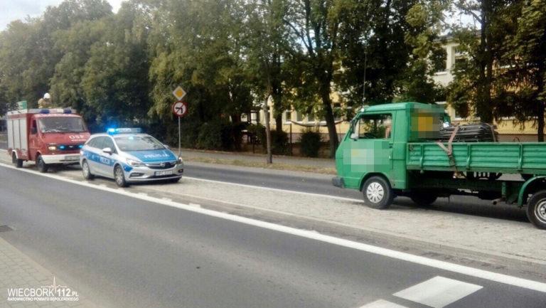 Potrącenie na Gdańskiej w Więcborku. Na miejsce wezwano śmigłowiec LPR