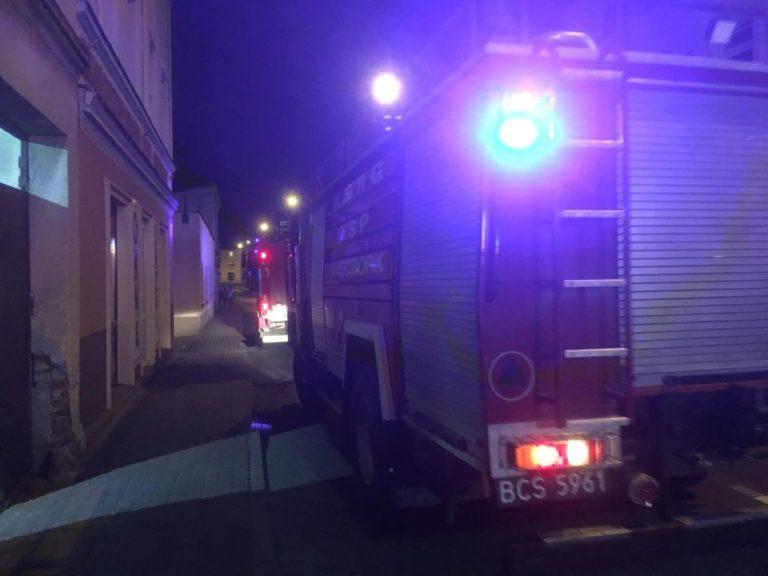 Przypalona potrawa powodem interwencji straży pożarnej