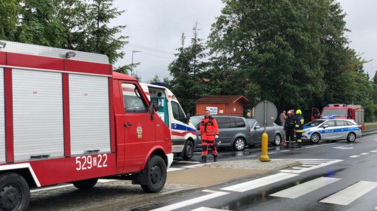 Zderzenie dwóch aut na Gdańskiej