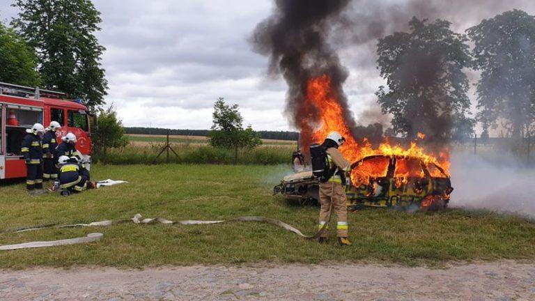 Pokazy strażackie w Sypniewie [Foto/Wideo]