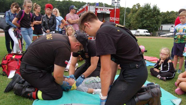 Strażacy na Dniach Więcborka